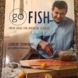 GO Fish cookbook by Laurent Tourondel